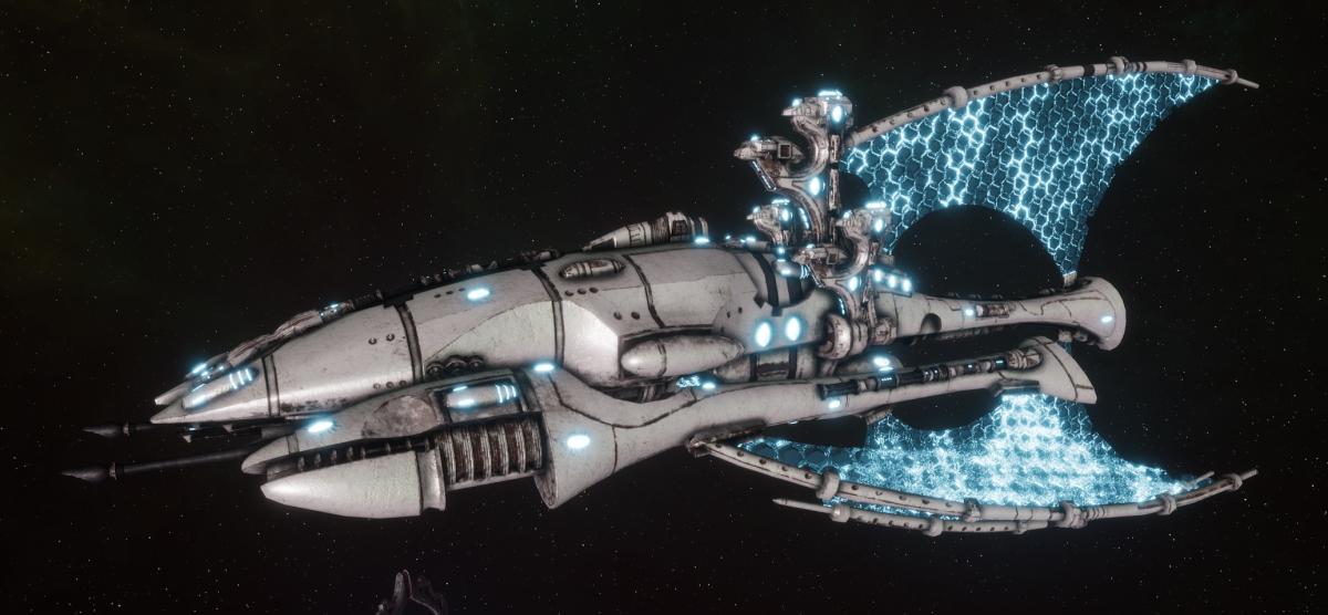 Asuryani Battle Cruiser - Phoenix Ship [Os'Tara - Eldar Sub-Faction]