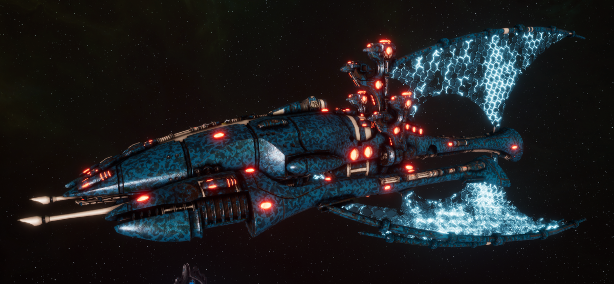 Asuryani Battle Cruiser - Phoenix Ship [Alaitoc - Eldar Sub-Faction]