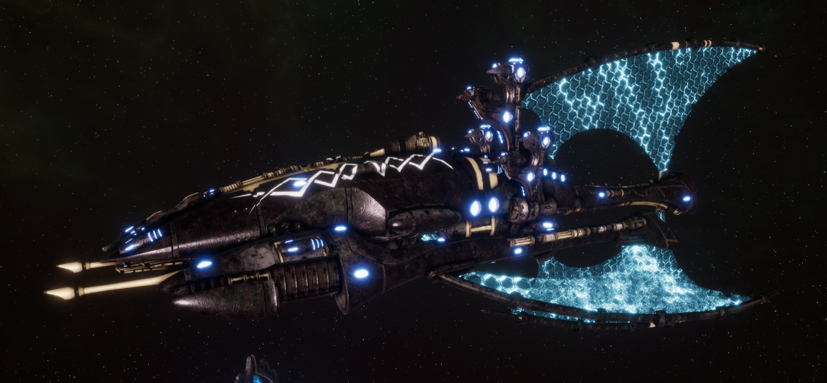 Asuryani Battle Cruiser - Phoenix Ship [Ulthwe - Eldar Sub-Faction]