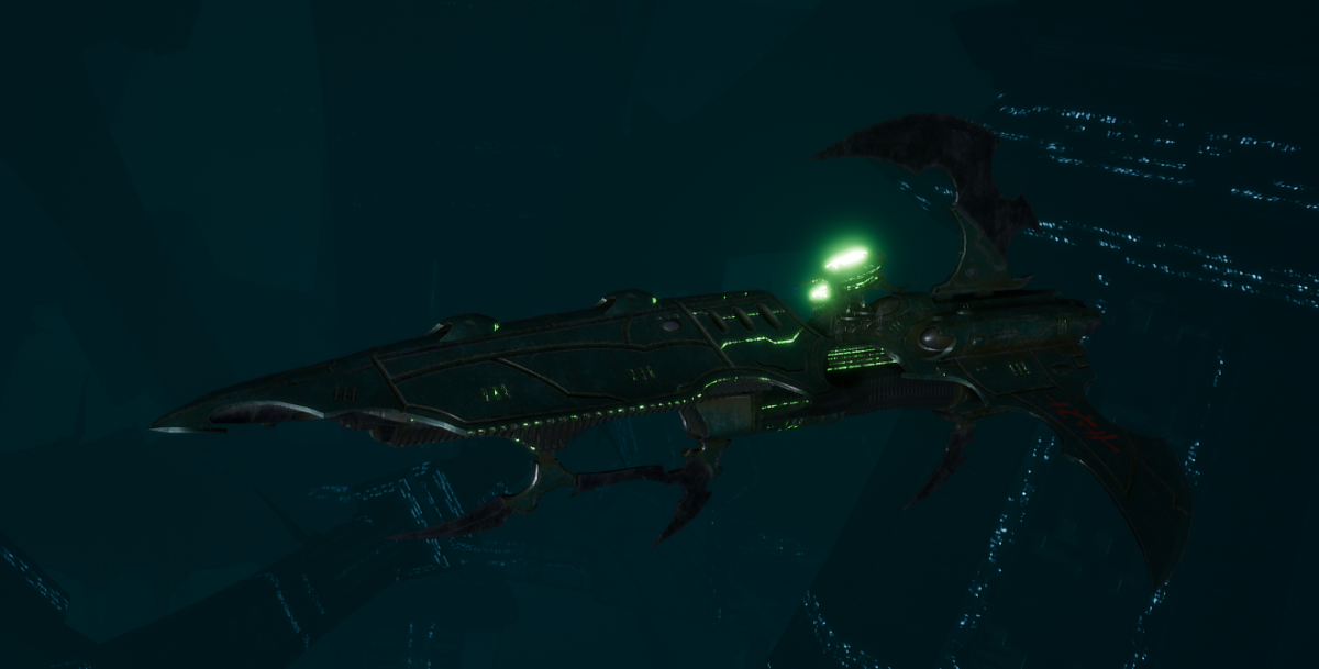 Drukhari Raider Frigate - Talon Cyriix - [Black Heart Sub-Faction]