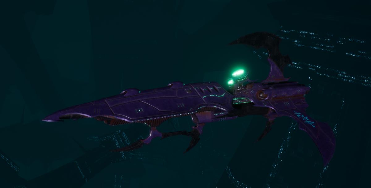 Drukhari Raider Frigate - Talon Cyriix - [Last Hatred Sub-Faction]
