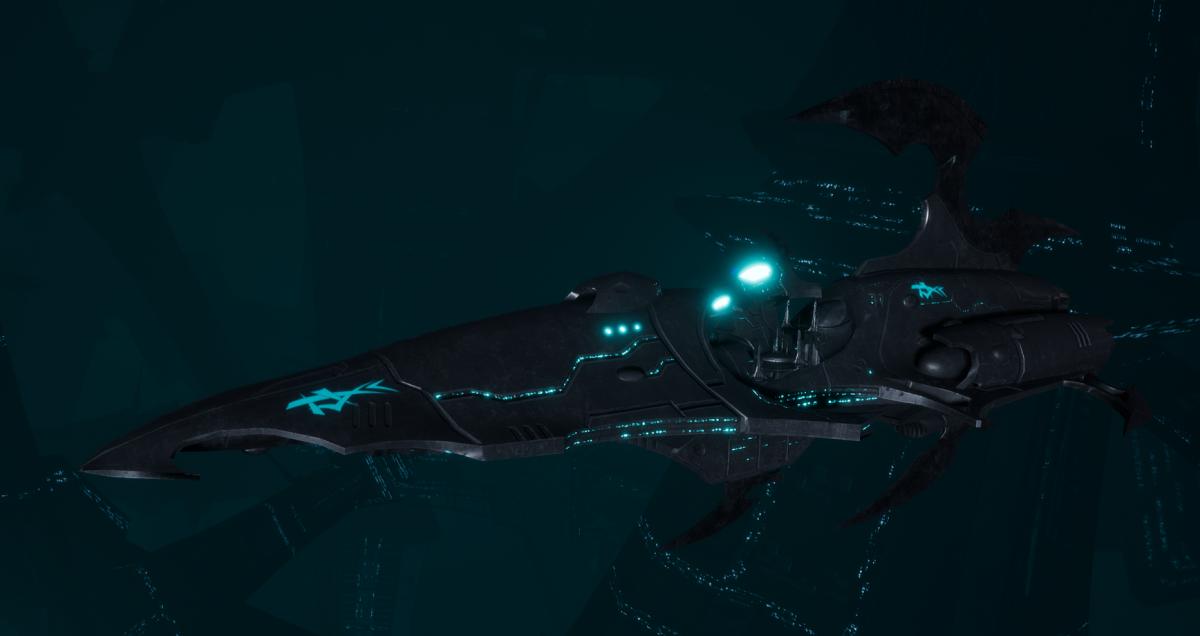 Drukhari Raider Destroyer - Sigil - [Iron Thorn Sub-Faction]