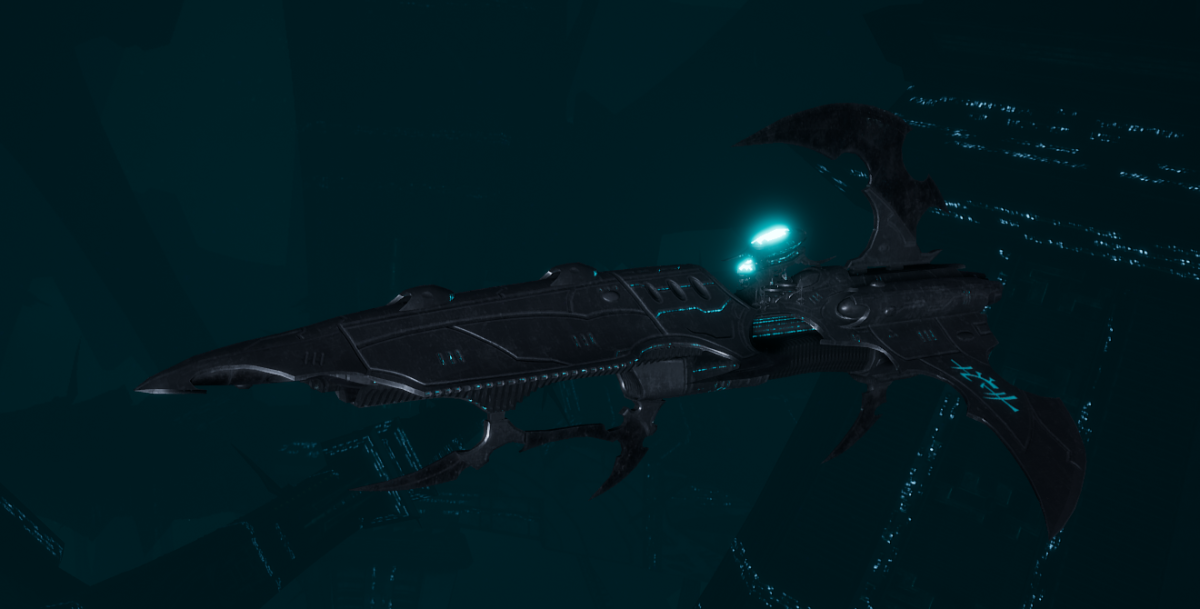 Drukhari Raider Frigate - Talon Cyriix - [Iron Thorn Sub-Faction]