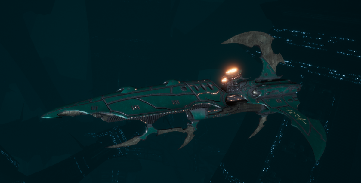 Drukhari Raider Frigate - Talon Cyriix - [Broken Sigil Sub-Faction]