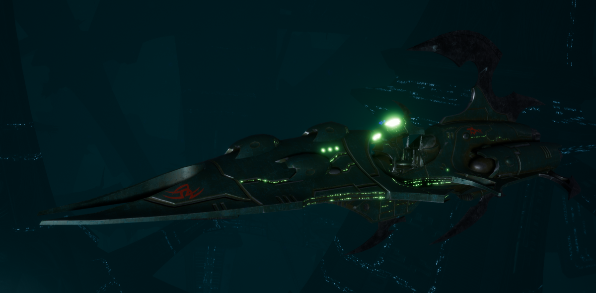 Drukhari Raider Destroyer - Immortal - [Black Heart Sub-Faction]