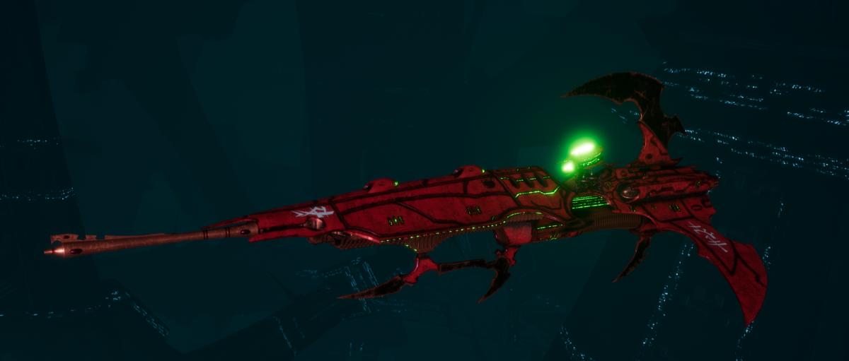 Drukhari Raider Frigate - Venom Blade - [Ynnari Sub-Faction]