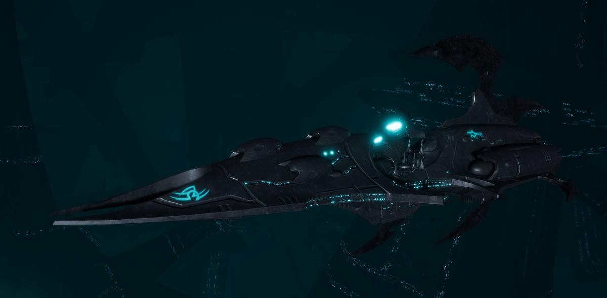 Drukhari Raider Destroyer - Immortal - [Iron Thorn Sub-Faction]