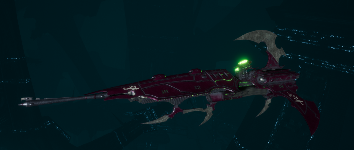 Drukhari Raider Frigate - Venom Blade - [The Severed Sub-Faction]