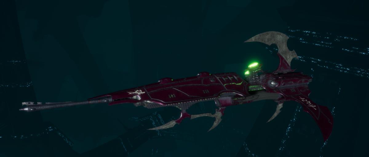 Drukhari Raider Frigate - Venom Blade - [The Severed Sub-Faction]