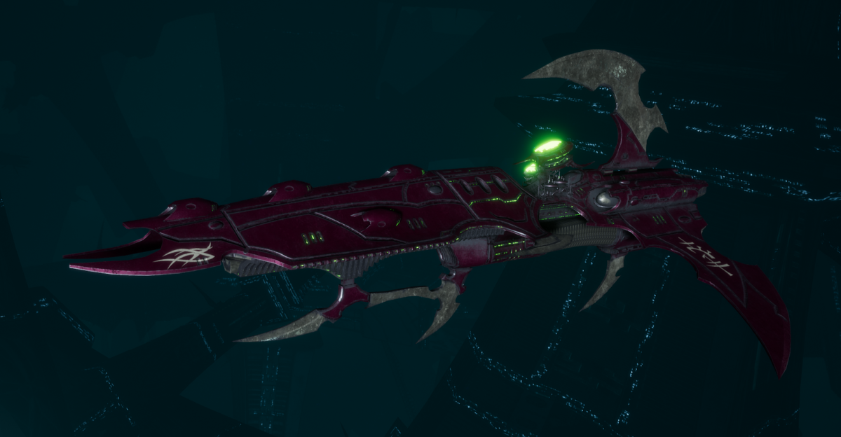 Drukhari Raider Frigate - Lost Hatred - [The Severed Sub-Faction]