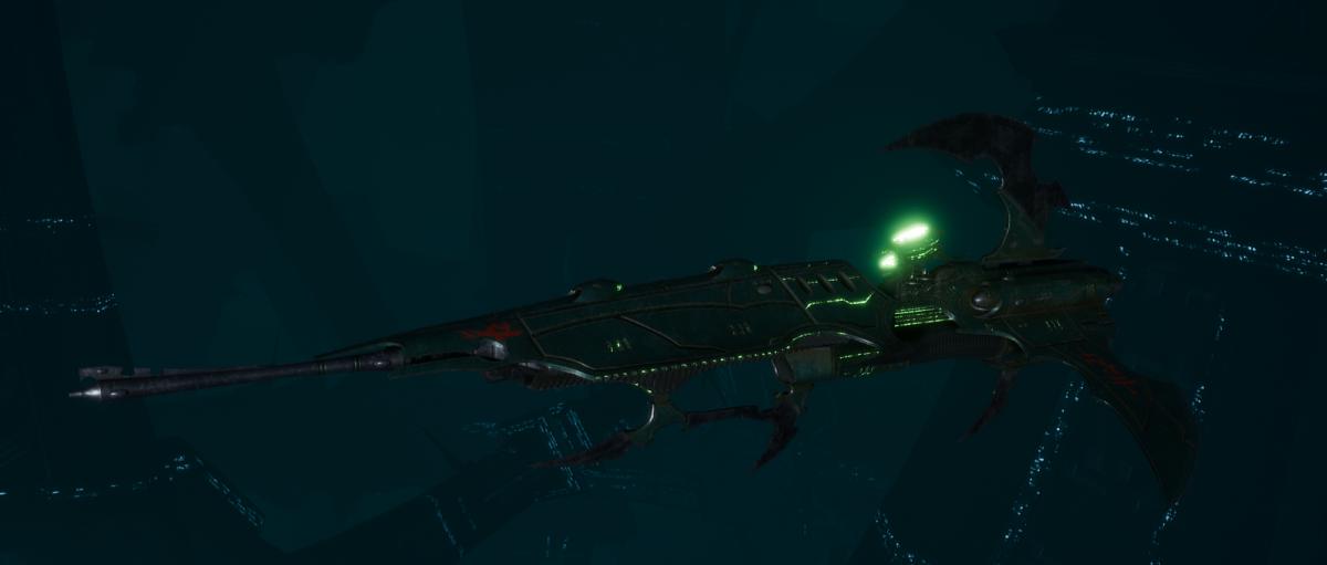 Drukhari Raider Frigate - Venom Blade - [Black Heart Sub-Faction]