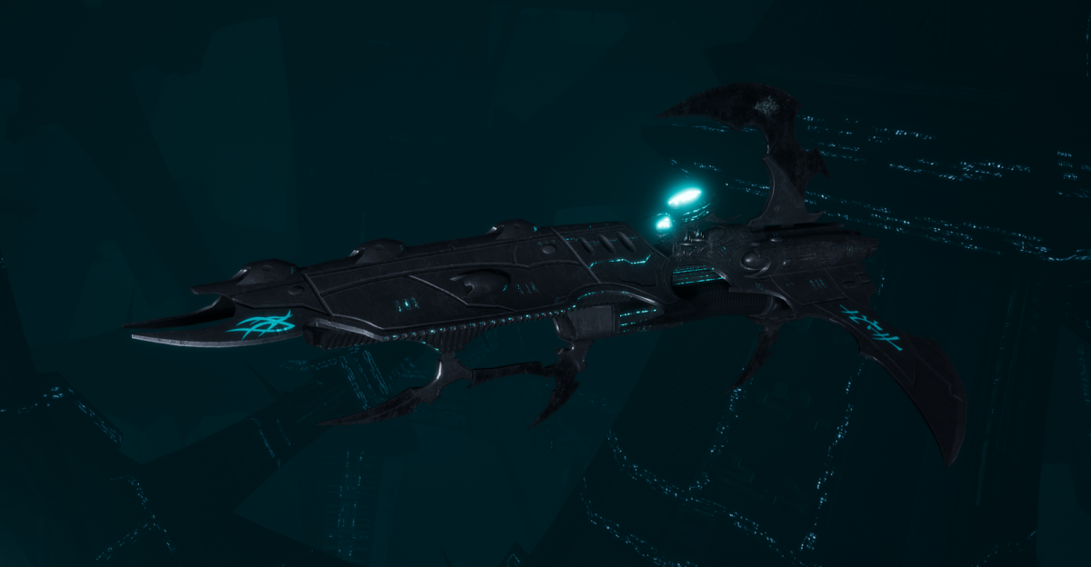 Drukhari Raider Frigate - Lost Hatred - [Iron Thorn Sub-Faction]