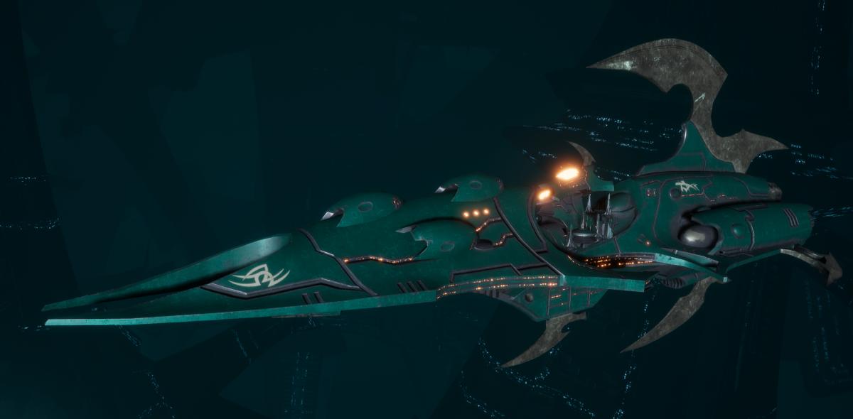 Drukhari Raider Destroyer - Immortal - [Broken Sigil Sub-Faction]