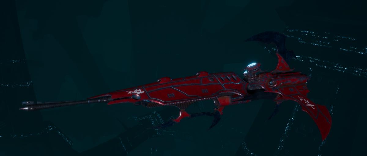 Drukhari Raider Frigate - Venom Blade - [Flayed Skull Sub-Faction]