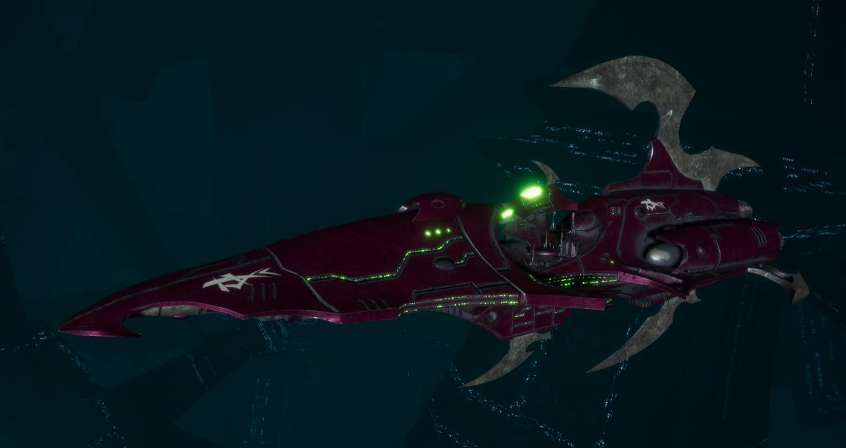 Drukhari Raider Destroyer - Sigil - [The Severed Sub-Faction]
