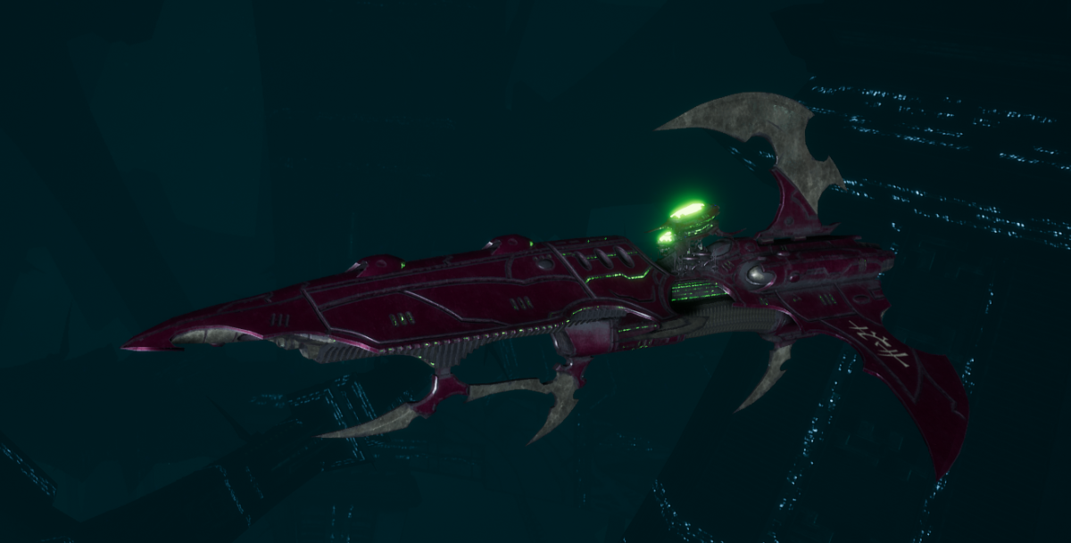 Drukhari Raider Frigate - Talon Cyriix - [The Severed Sub-Faction]
