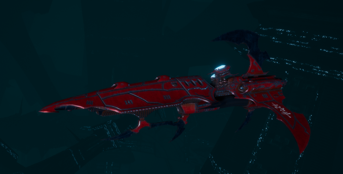 Drukhari Raider Frigate - Talon Cyriix - [Flayed Skull Sub-Faction]