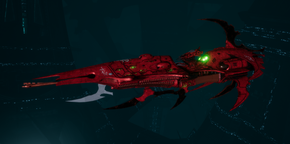 Drukhari Raider Light Cruiser - Dark Mirror - [Ynnari Sub-Faction]
