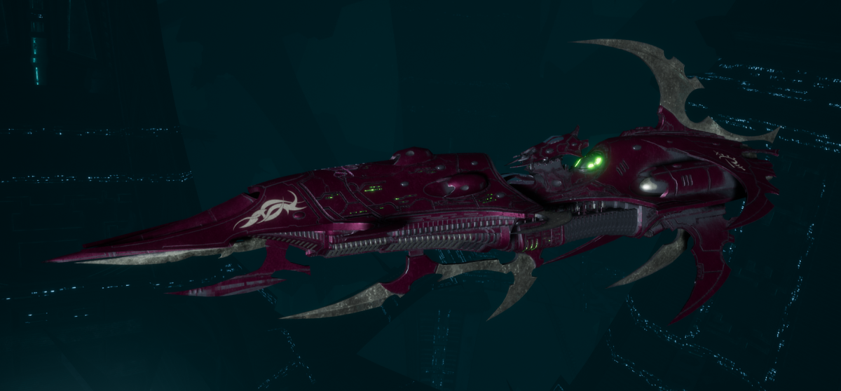 Drukhari Raider Light Cruiser - Baleful Gaze - [The Severed Sub-Faction]