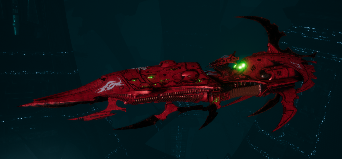 Drukhari Raider Light Cruiser - Baleful Gaze - [Ynnari Sub-Faction]