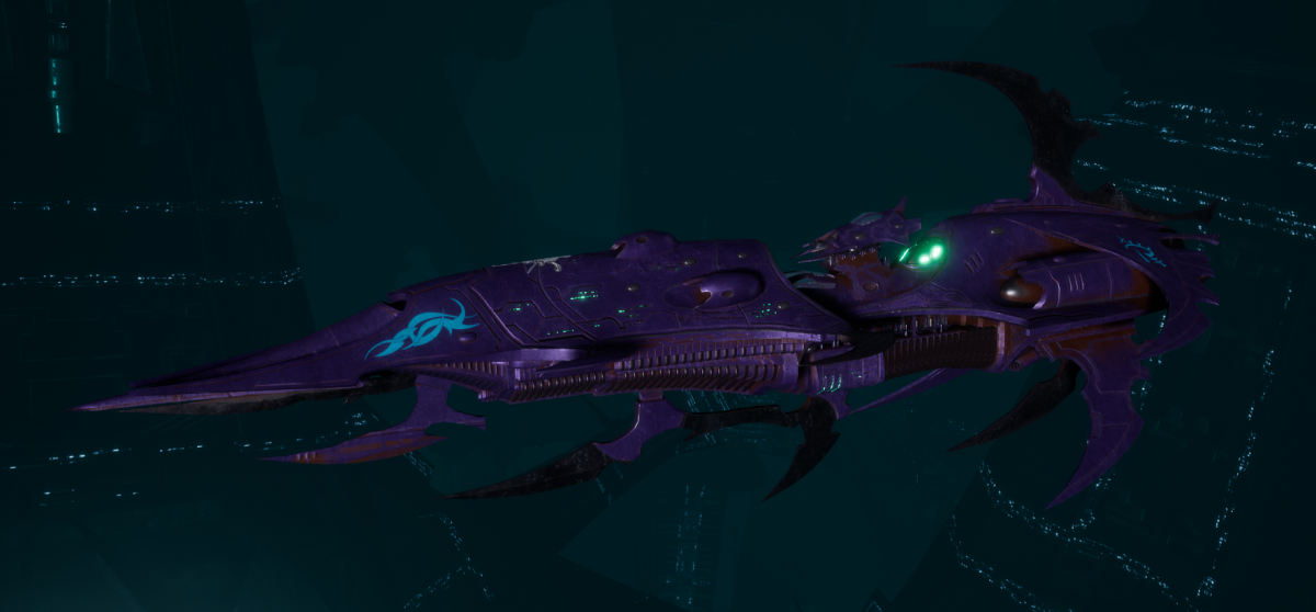 Drukhari Raider Light Cruiser - Baleful Gaze - [Last Hatred Sub-Faction]