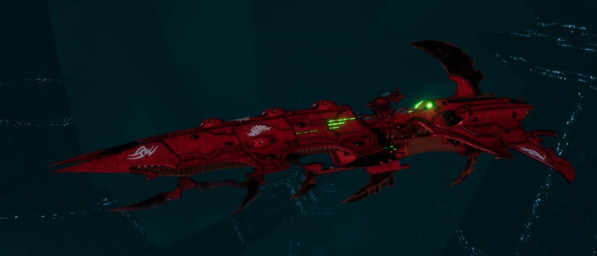 Drukhari Raider Cruiser - Fiend Ascendant - [Ynnari Sub-Faction]