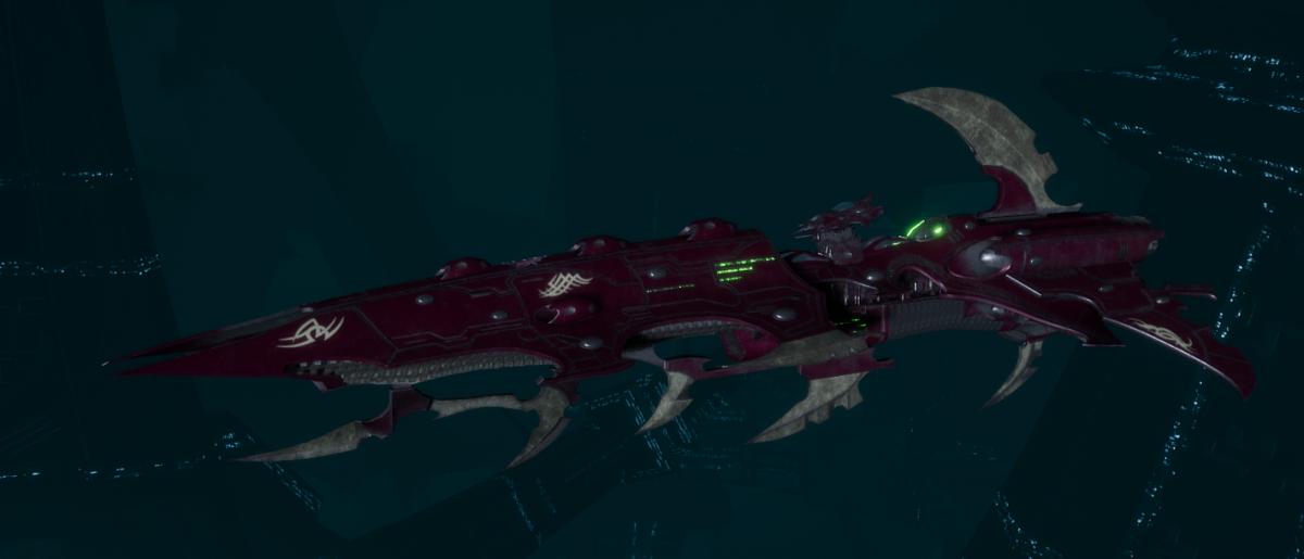 Drukhari Raider Cruiser - Fiend Ascendant - [The Severed Sub-Faction]