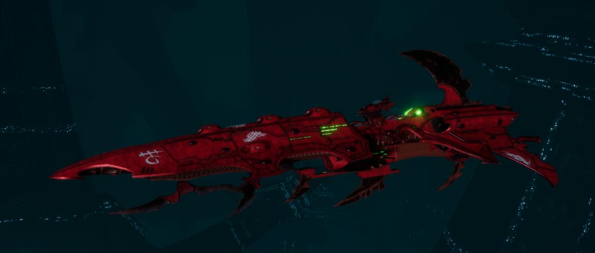 Drukhari Raider Cruiser - Bloodied Claw - [Ynnari Sub-Faction]