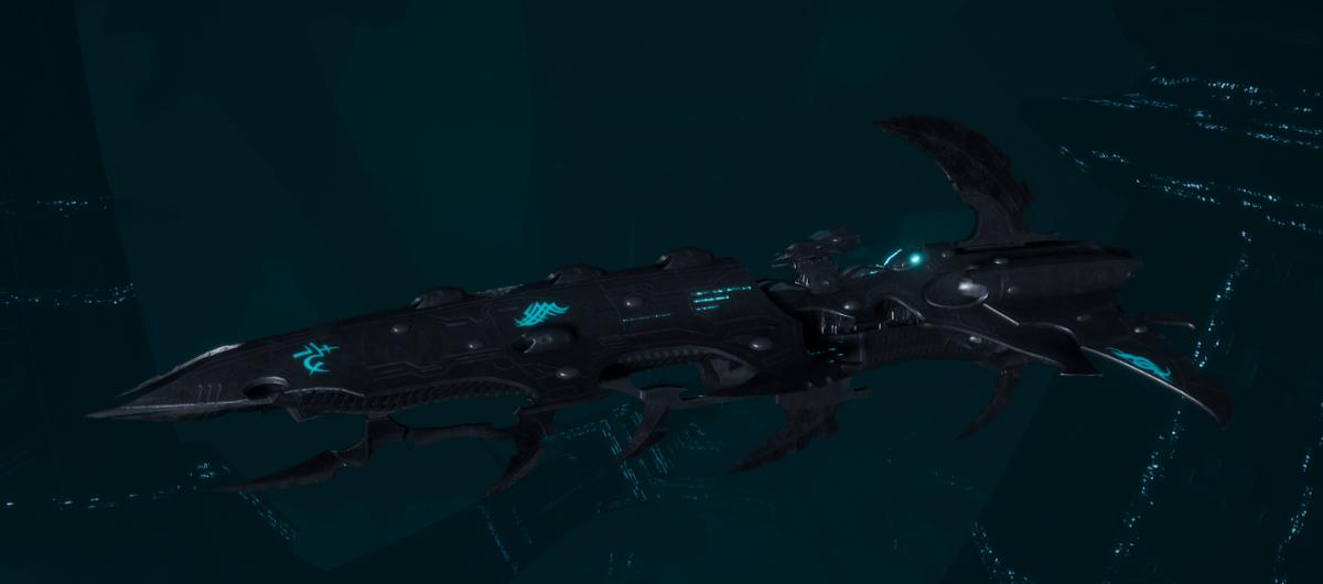 Drukhari Raider Cruiser - Bleak Soul - [Iron Thorn Sub-Faction]