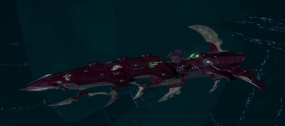 Drukhari Raider Cruiser - Bleak Soul - [The Severed Sub-Faction]