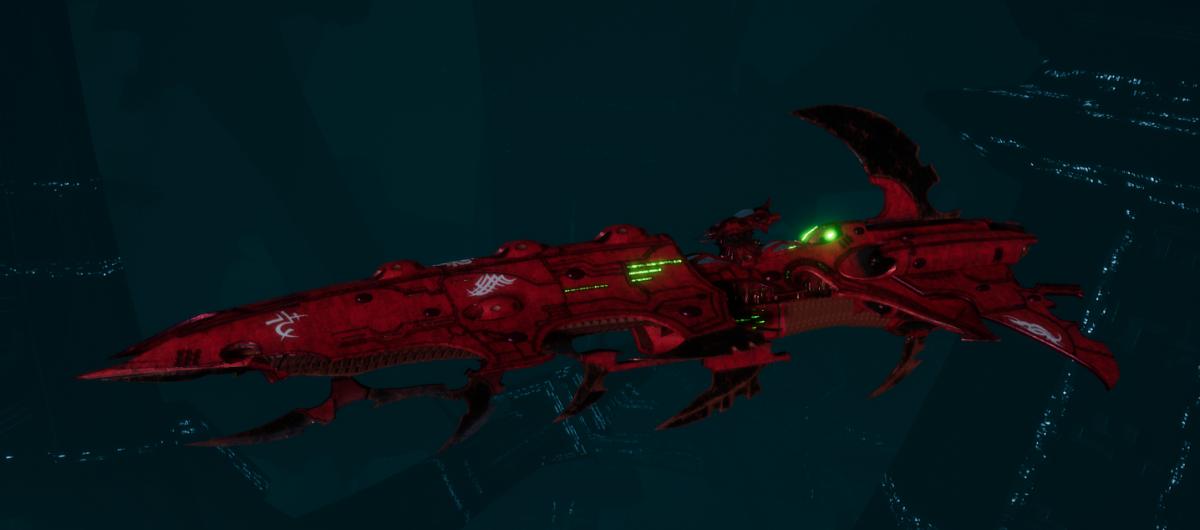 Drukhari Raider Cruiser - Bleak Soul - [Ynnari Sub-Faction]