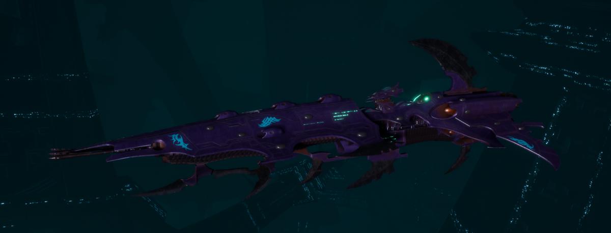 Drukhari Raider Cruiser - Flayed Skull - [Last Hatred Sub-Faction]