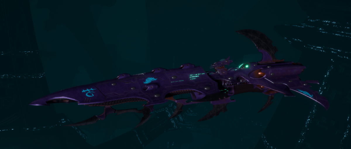 Drukhari Raider Cruiser - Bloodied Claw - [Last Hatred Sub-Faction]