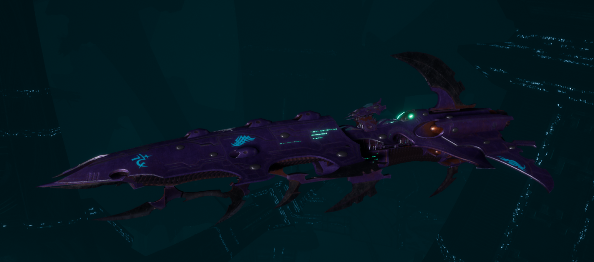 Drukhari Raider Cruiser - Bleak Soul - [Last Hatred Sub-Faction]