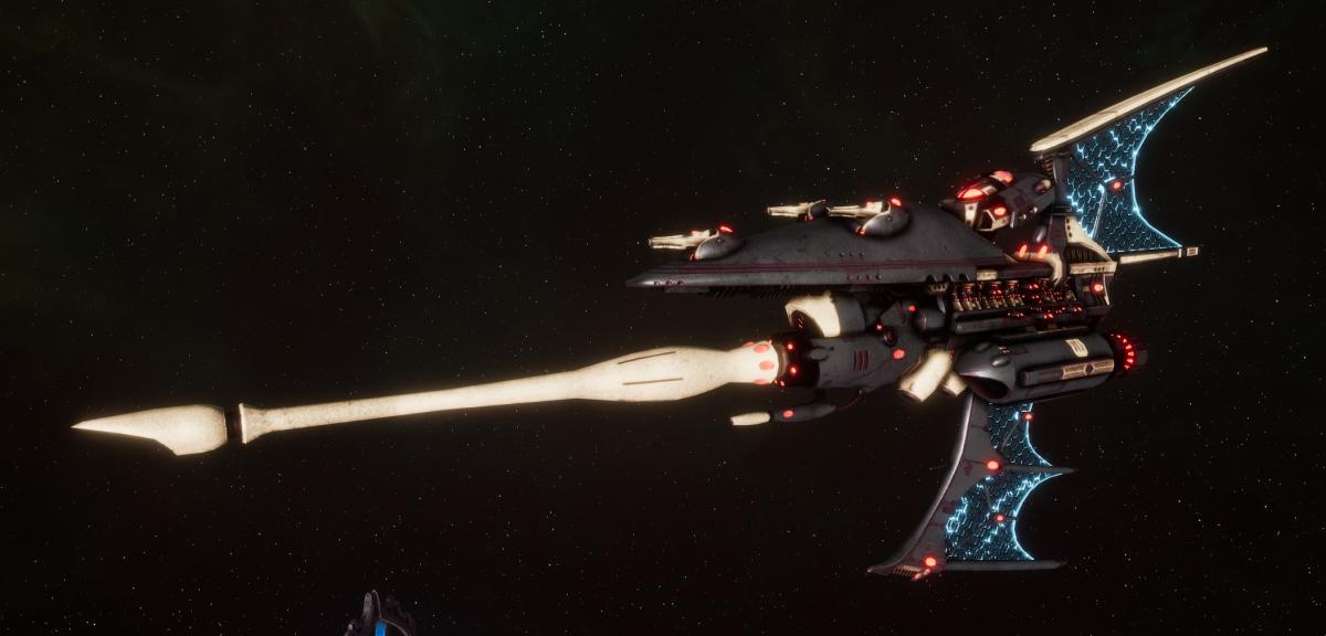 Aeldari Corsair Destroyer - Hemlock [Steeleye Reavers - Eldar Sub-Faction]