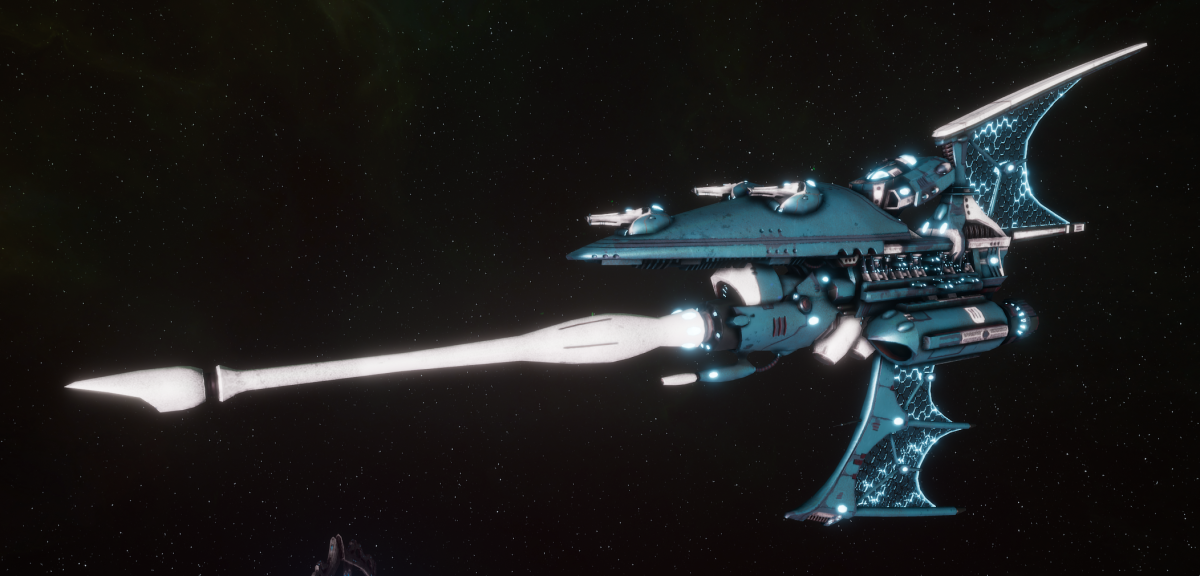 Aeldari Corsair Destroyer - Hemlock [Sky Raiders - Eldar Sub-Faction]