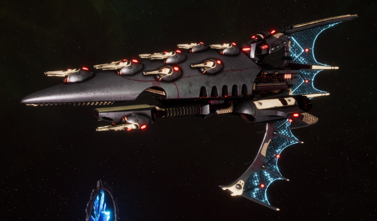 Aeldari Corsair Frigate - Aconit [Steeleye Raiders - Eldar Sub-Faction]