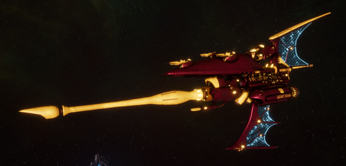 Aeldari Corsair Destroyer - Hemlock [Twilight Sword - Eldar Sub-Faction]