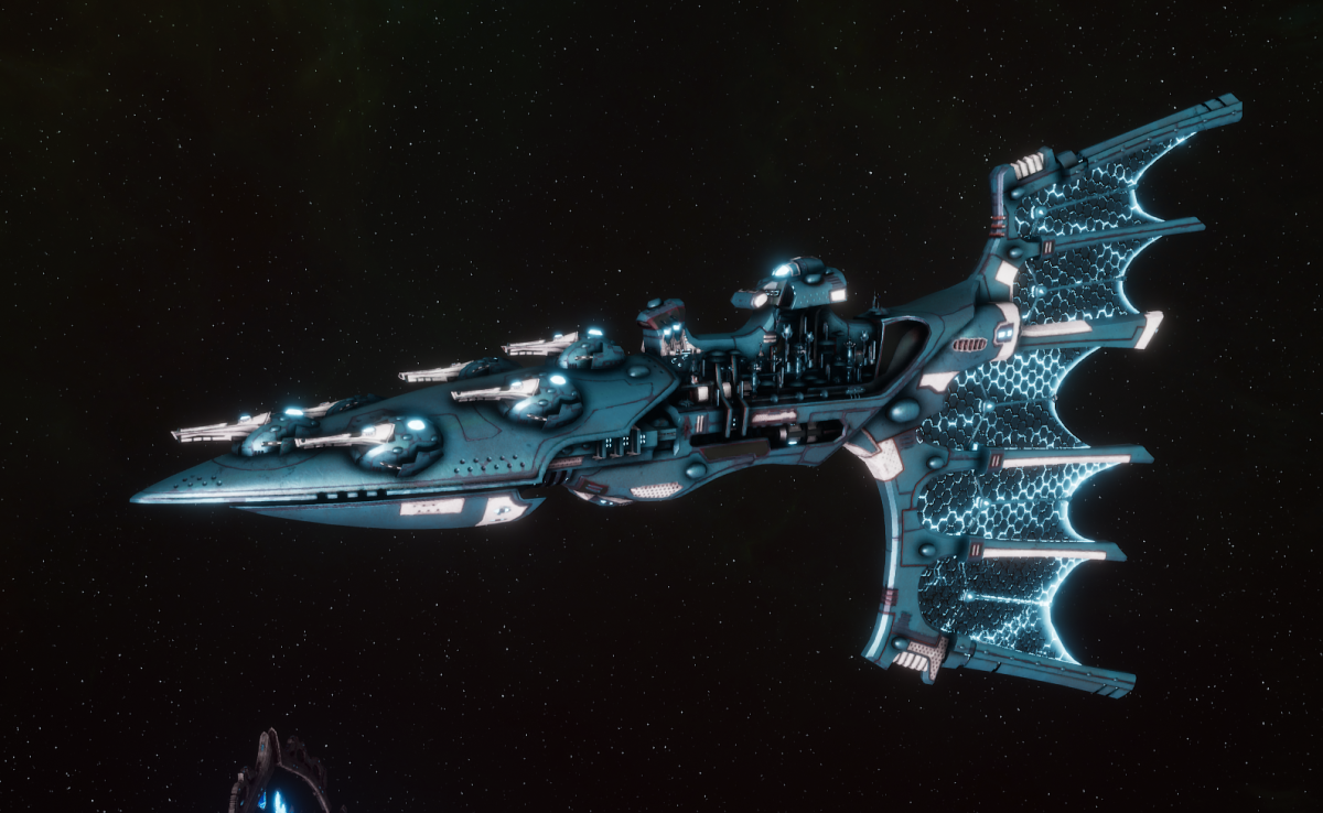 Aeldari Corsair Light Cruiser - Solaris [Sky Raiders - Sub-Faction]