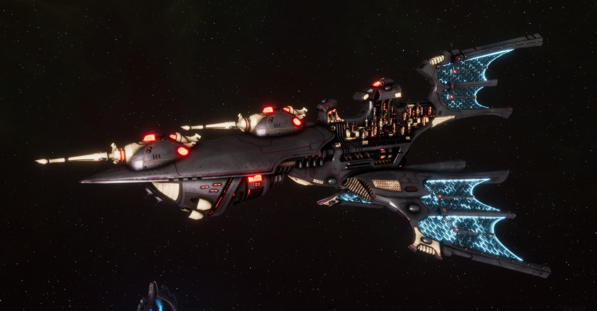Aeldari Corsair Light Cruiser - Aurora [Steeleye Reavers - Sub-Faction]