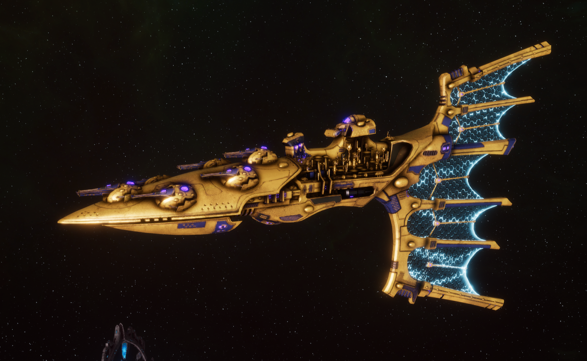 Aeldari Corsair Light Cruiser - Solaris [Eldritch Raiders - Sub-Faction]