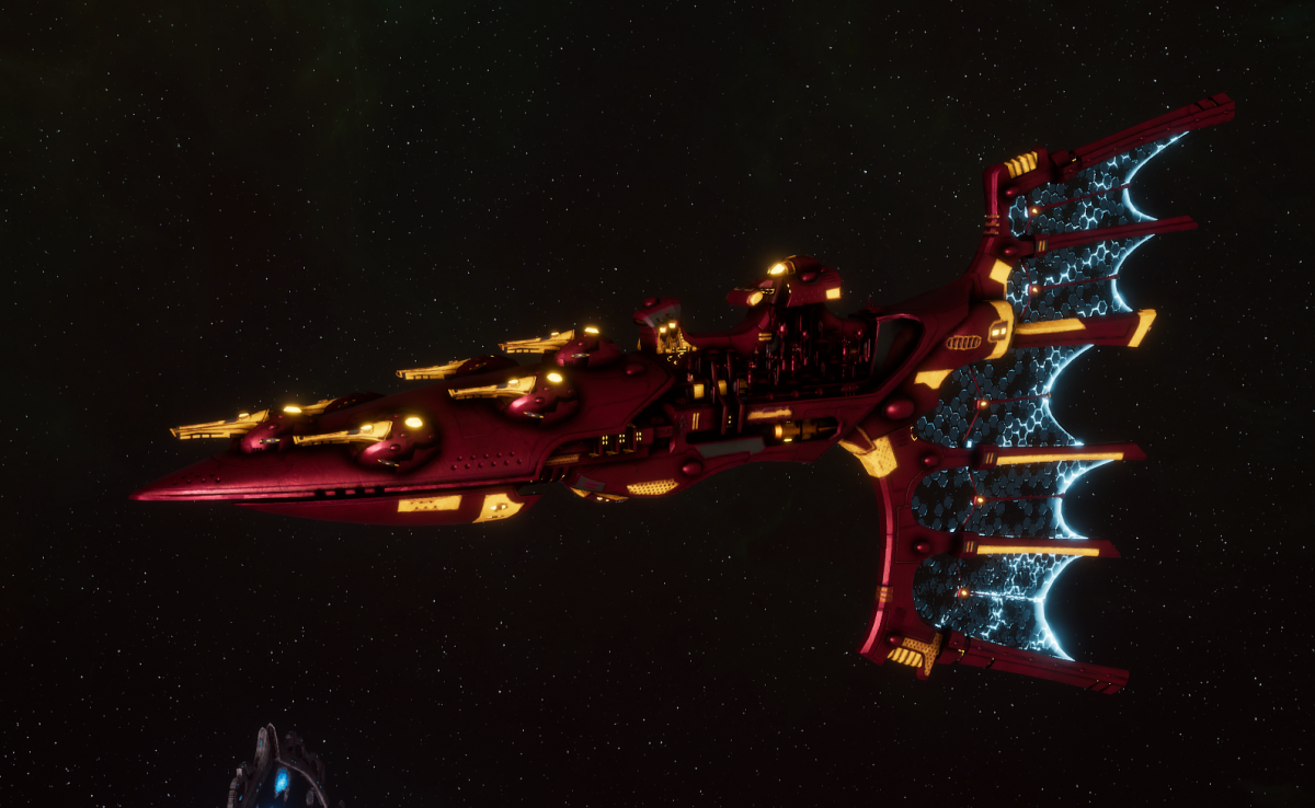 Aeldari Corsair Light Cruiser - Solaris [Twilight Sword - Sub-Faction]