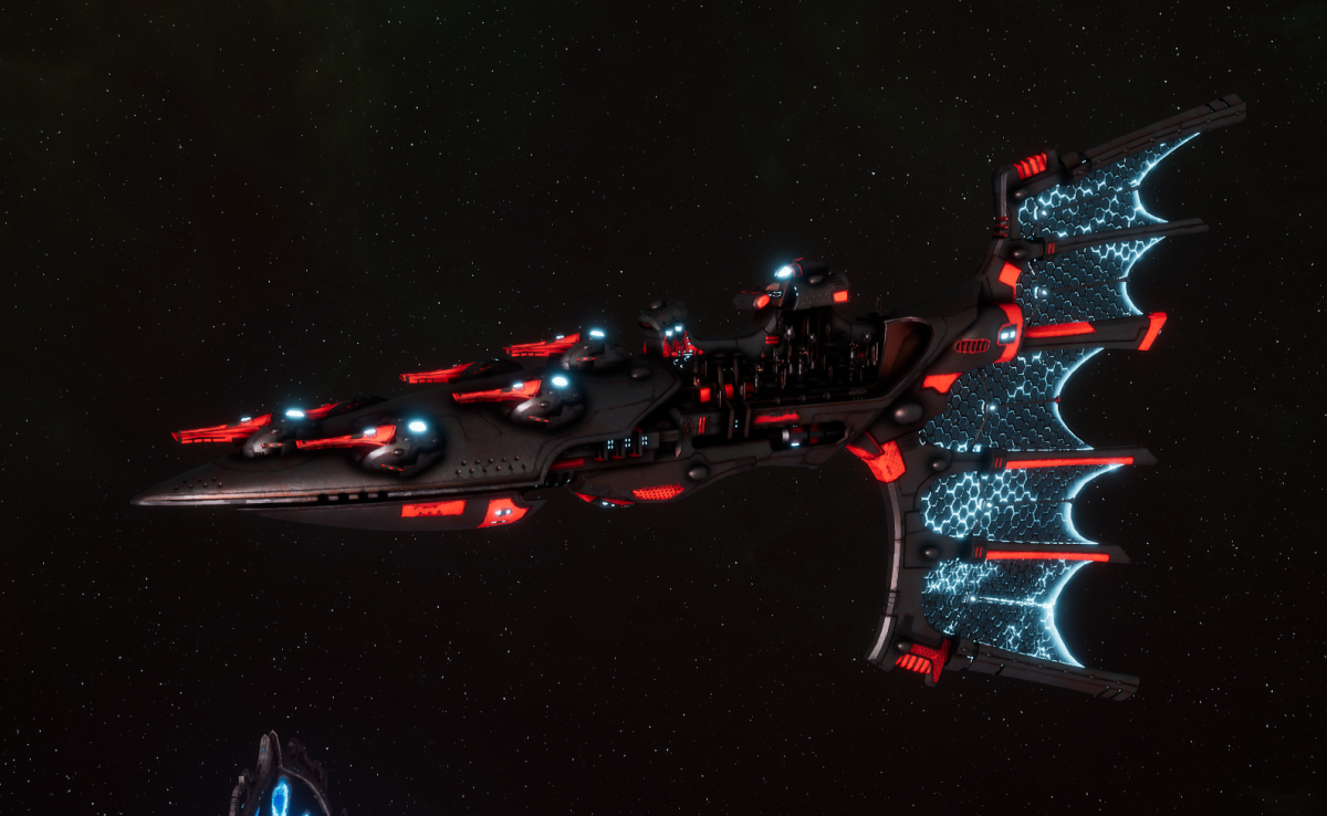 Aeldari Corsair Light Cruiser - Solaris [Void Dragon - Sub-Faction]