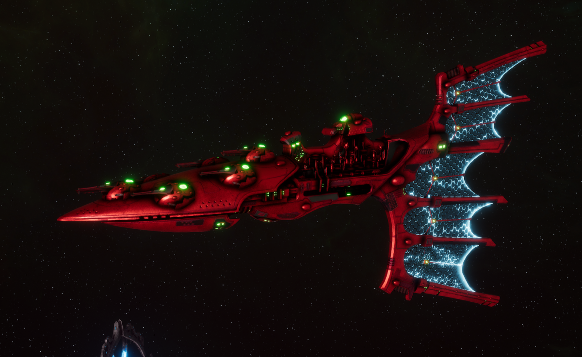 Aeldari Corsair Light Cruiser - Solaris [Ynnari - Sub-Faction]