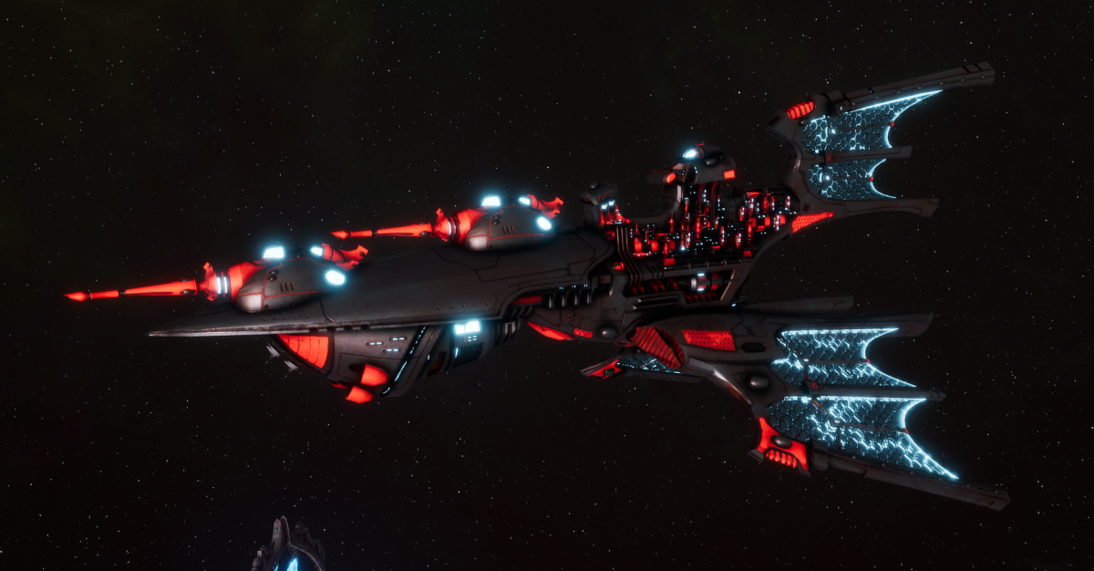 Aeldari Corsair Light Cruiser - Aurora [Void Dragon - Sub-Faction]