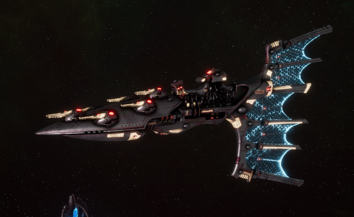 Aeldari Corsair Light Cruiser - Solaris [Steeleye Reavers - Sub-Faction]