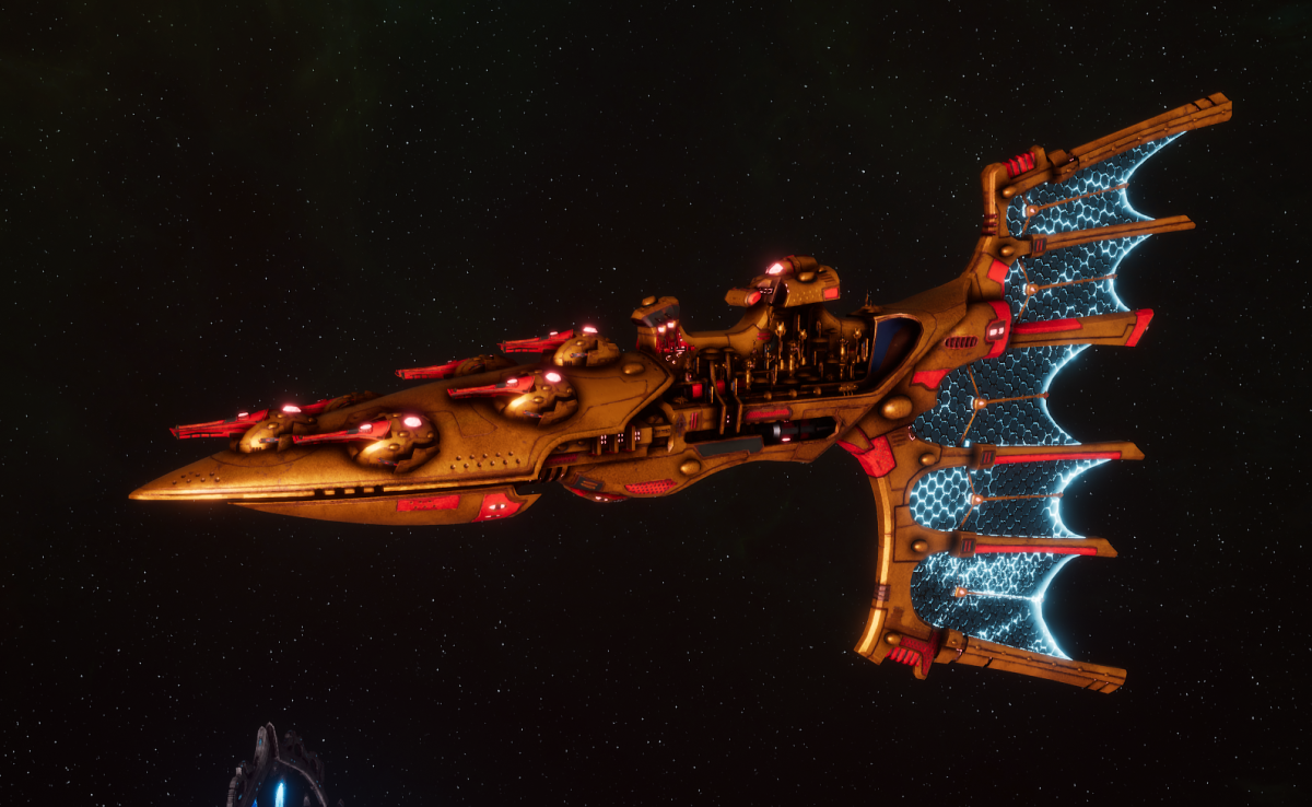 Aeldari Corsair Light Cruiser - Solaris [Sun Blitz - Sub-Faction]
