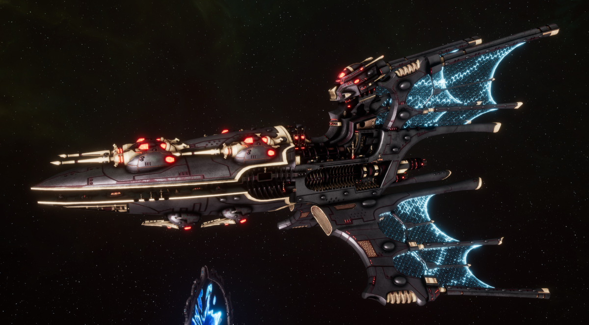 Aeldari Corsair Battleship - Voidstalker [Steeleye Reavers - Sub-Faction]