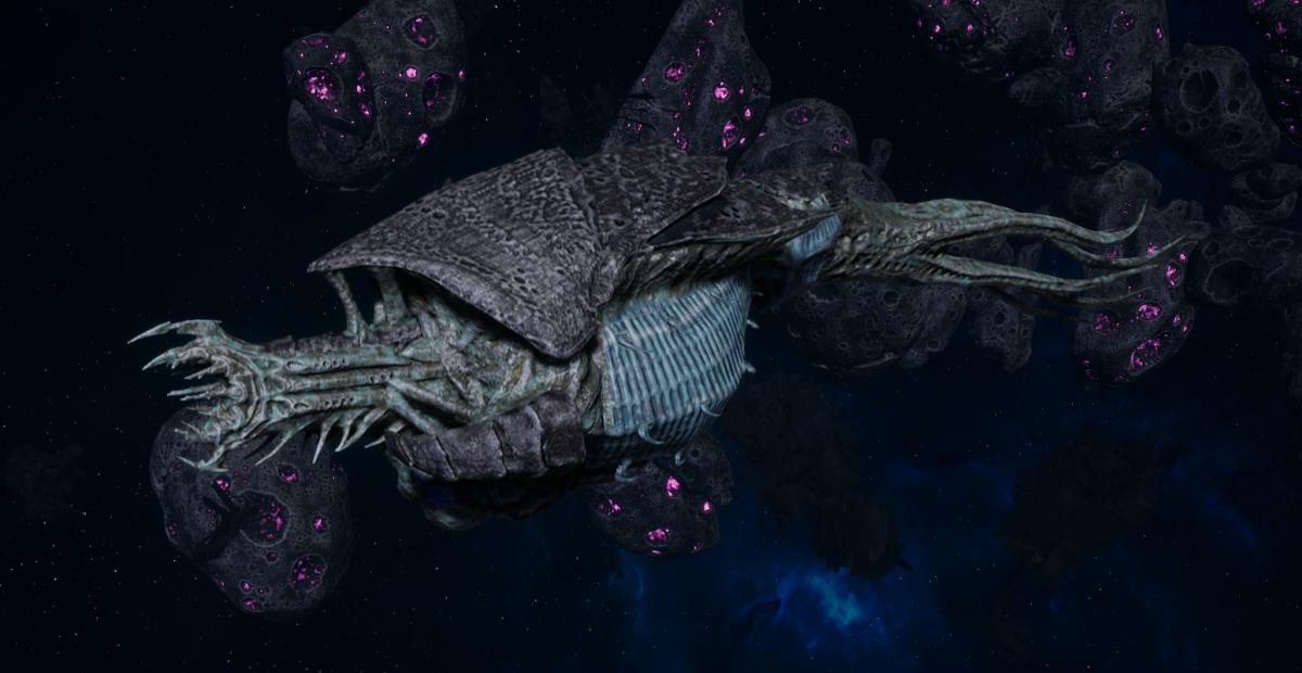 "Tyranid Frigate - ""Corrosive Kraken"" - [Ouroboris Sub-Faction]"