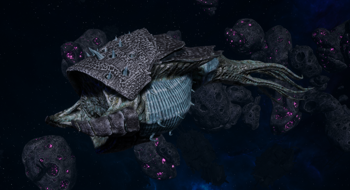 "Tyranid Frigate - ""Bio Projectile Kraken"" - [Ouroboris Sub-Faction]"